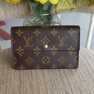Handbags - Louis vuitton compact trifold wallet